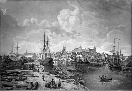 Bulwar Nadodrzański i port