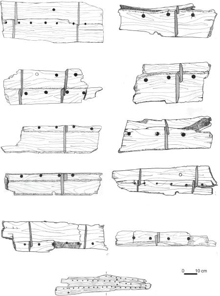 Klepki łodzi