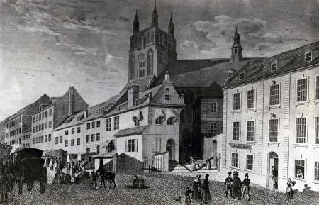 Ul. Wielka. Johann Friedrich Rossmässler (1775-1858), 1837, staloryt. MNS/A.Foto/13658
